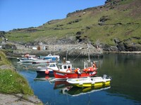 harbour boscastle self guided walking holiday cornwall south west coastal path